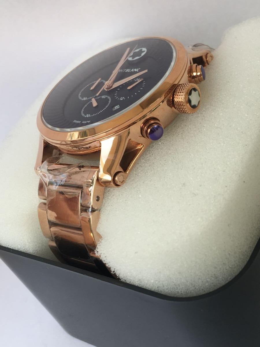 eca9cd03846 Relógio Montblanc Pulseira Aço Rose
