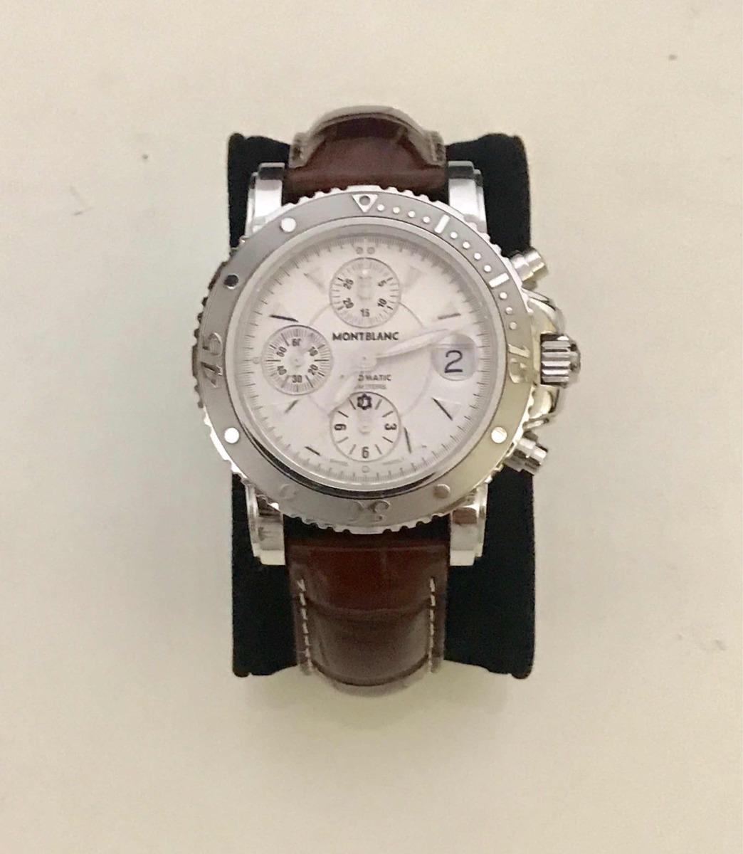 8916a05ec7b relógio montblanc sport automático 42mm - tag rolex omega. Carregando zoom.