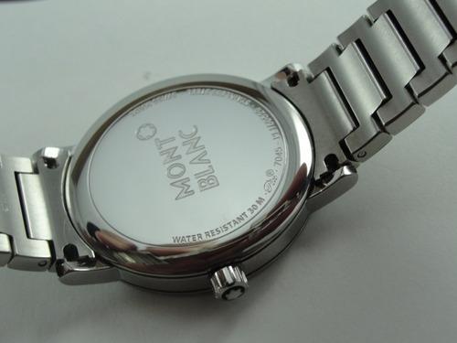 relógio montblanc summit - swiss made - original