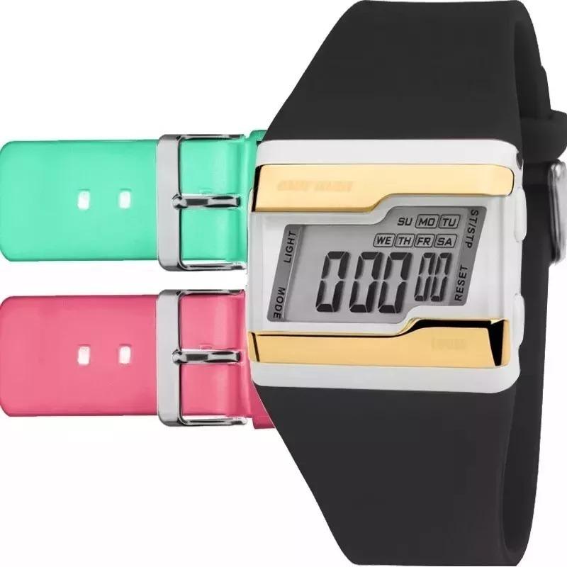 1df14002870 relógio mormaii acquarela fzv t8q troca pulseira original. Carregando zoom.