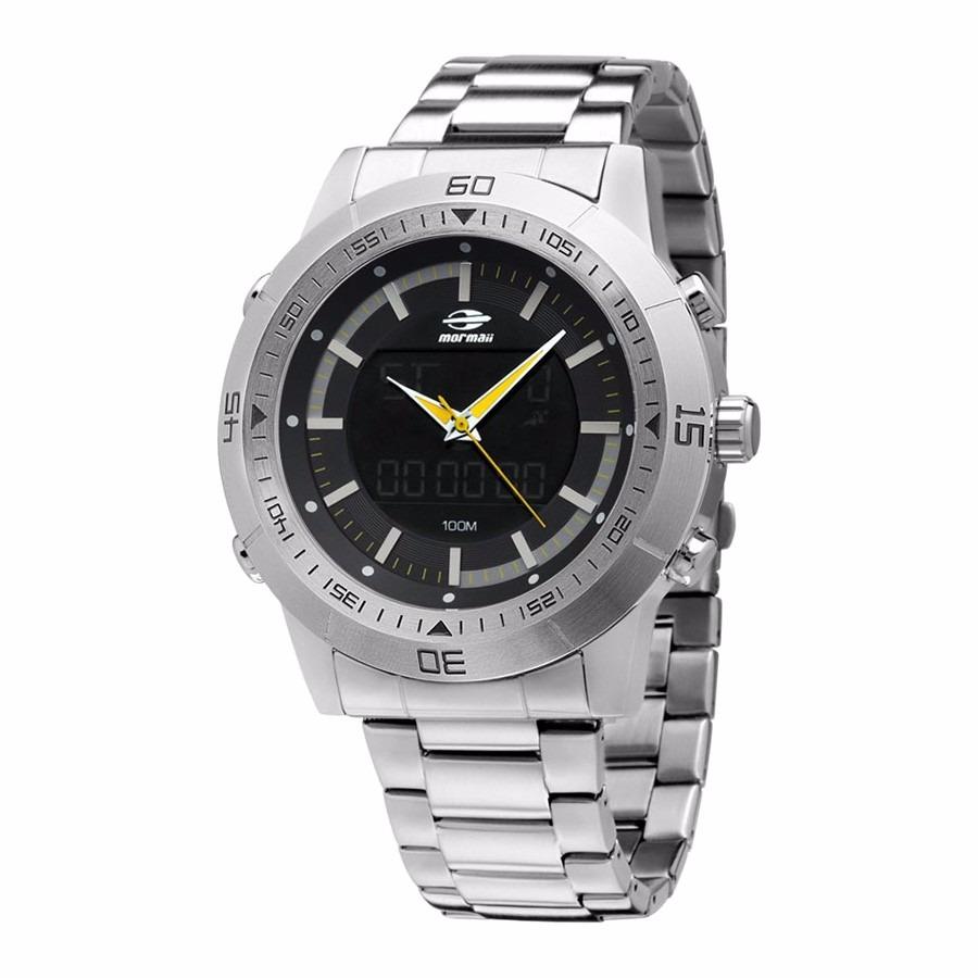 Relógio Mormaii Anadigi Qg158aa 1p - Garantia E Nf - R  399,00 em ... c79aaaa32f