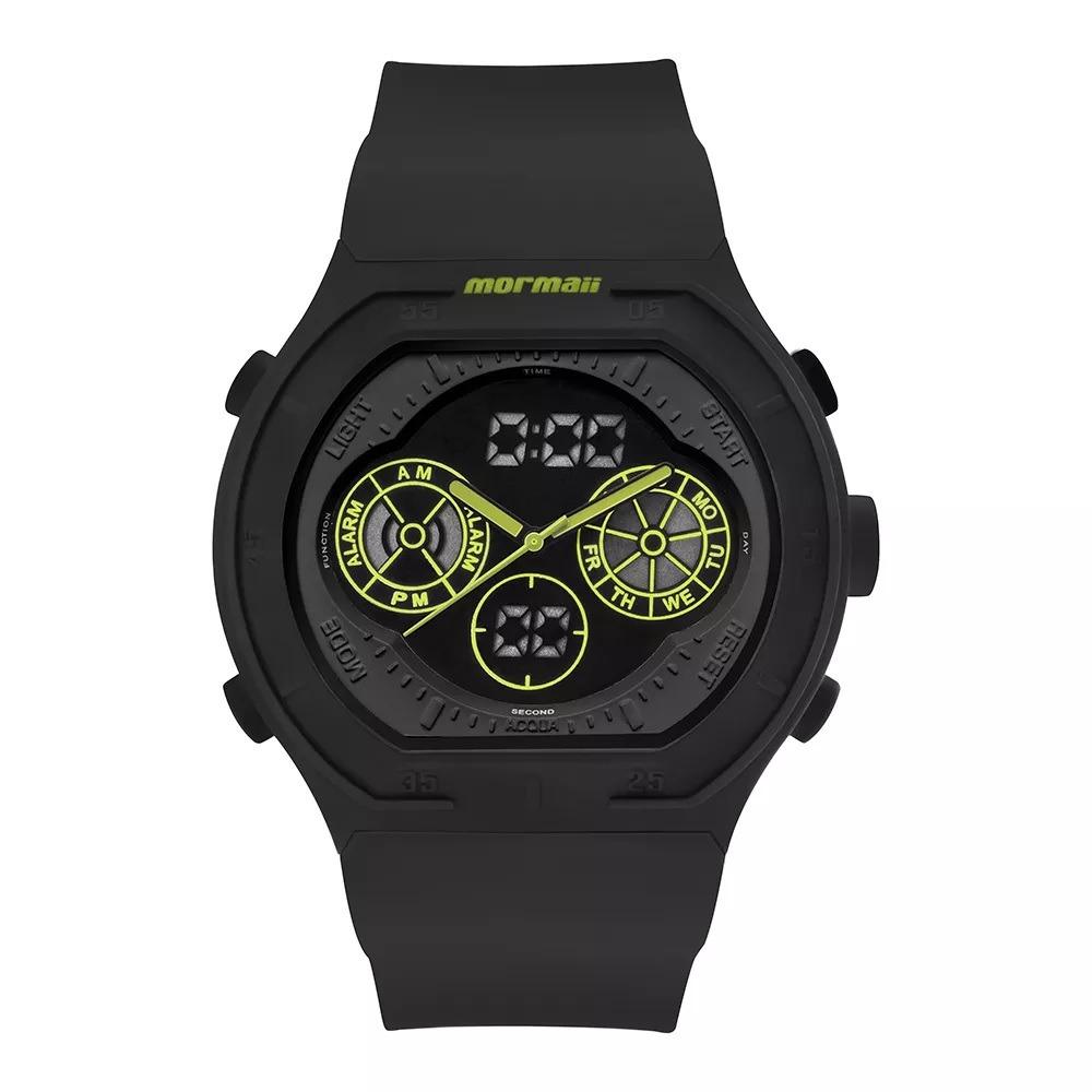 5516c91a637 relógio mormaii analógico digital lumi mo160323ba8v preto. Carregando zoom.