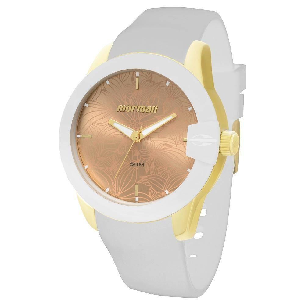 Relógio Mormaii Branco Fundo Rosé Mo2035dk 8d - R  273,70 em Mercado ... 9bc085d719