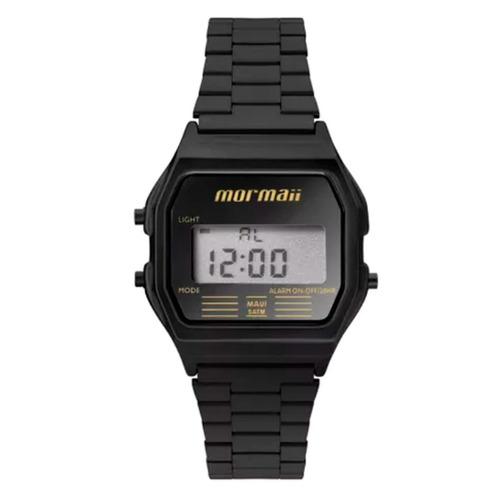 relógio mormaii classic preto