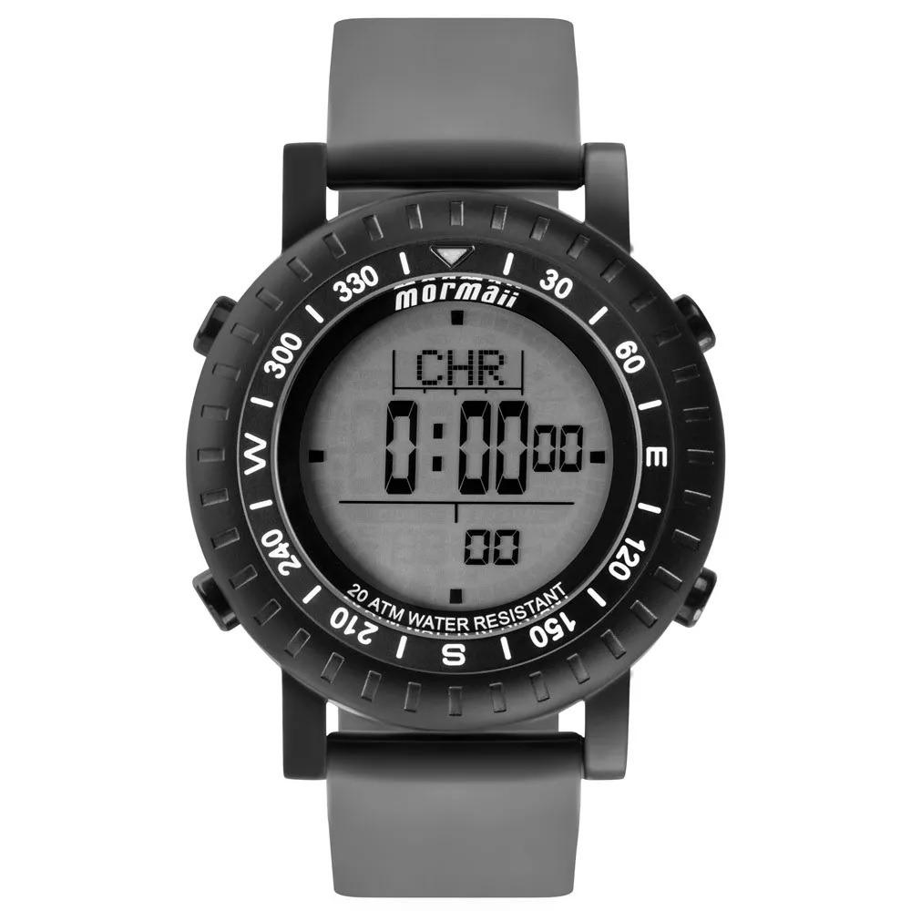 Relógio Mormaii Digital Action Mo1152a8p Cinza preto - R  369,90 em ... daba2b1617