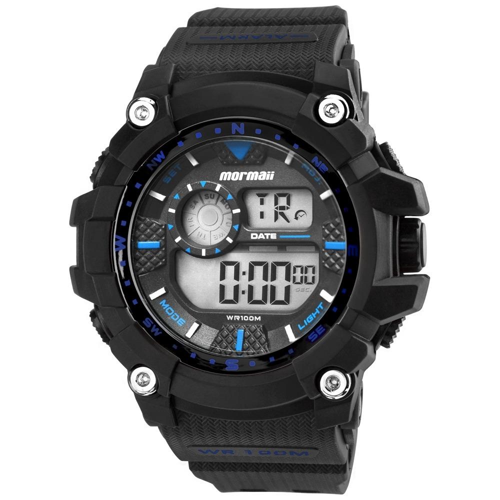 42cf1304071 Relógio Mormaii Digital Action Wave Mo3530a8a Preto - R  199