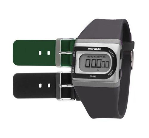 relógio mormaii digital esportivo troca pulseiras fzac/8k
