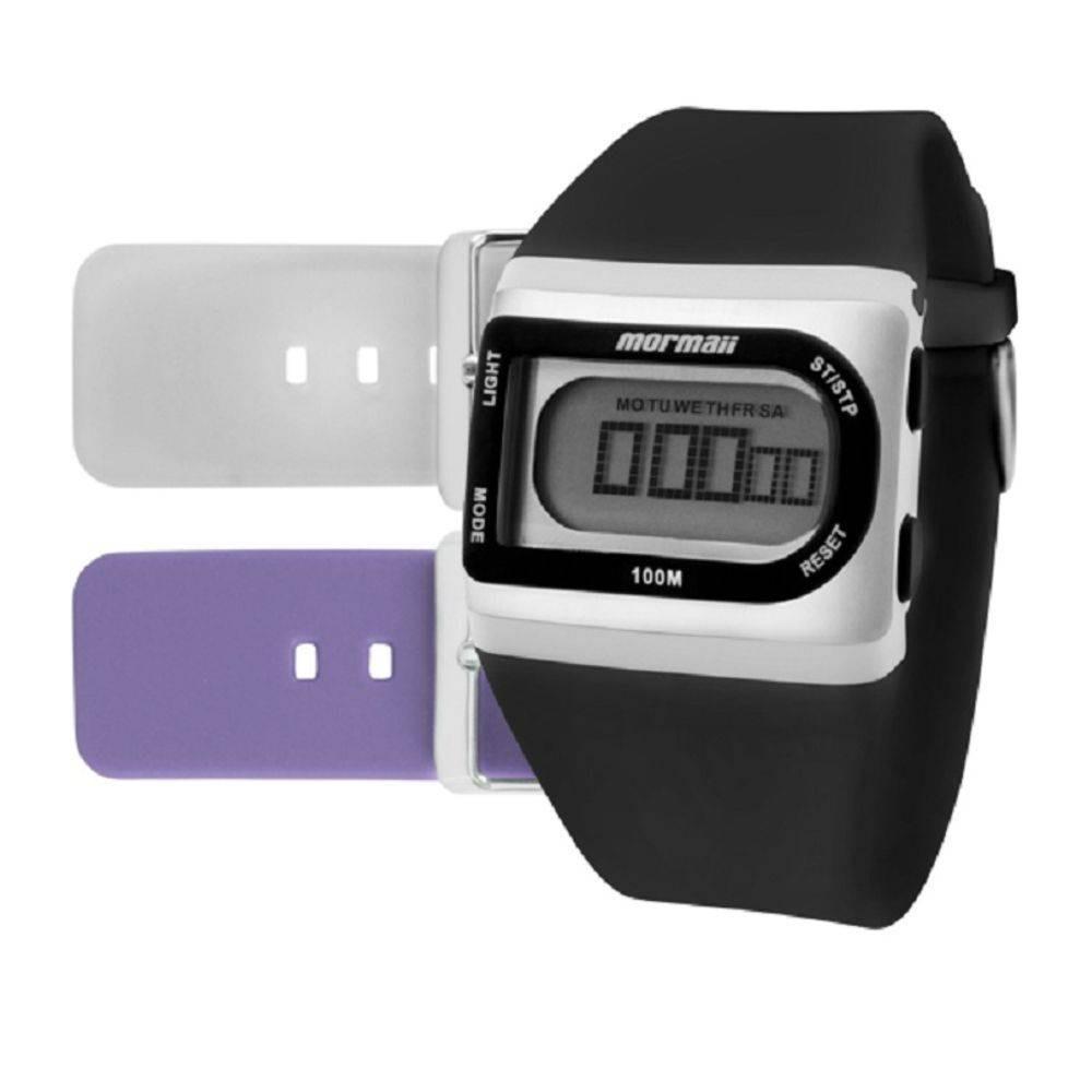 7dd22091d56c8 relógio mormaii digital kit troca pulseira fzg 8j. Carregando zoom.