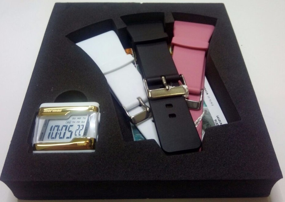 9d3860f12b5de Relógio Mormaii Digital Kit Troca Pulseira Fzv 8t - R  129,00 em ...