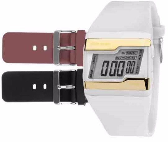 Relógio Mormaii Digital Kit Troca Pulseira Fzv 8t - R  129,00 em Mercado  Livre 88fe7e7780