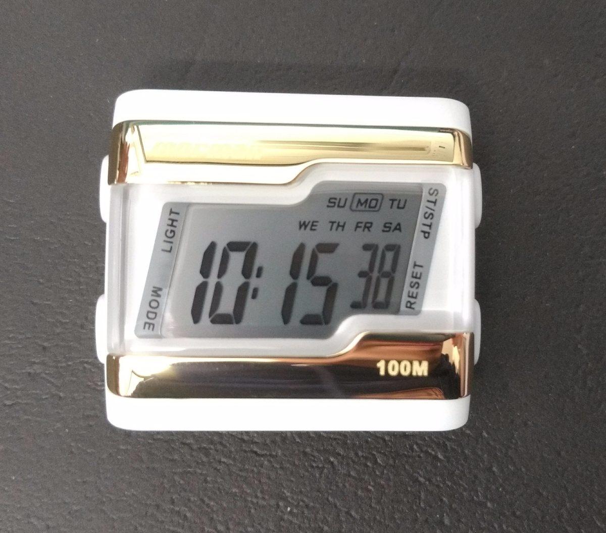 c6997b6f1d277 Relógio Mormaii Digital Kit Troca Pulseira Fzv 8t - R  129,00 em ...