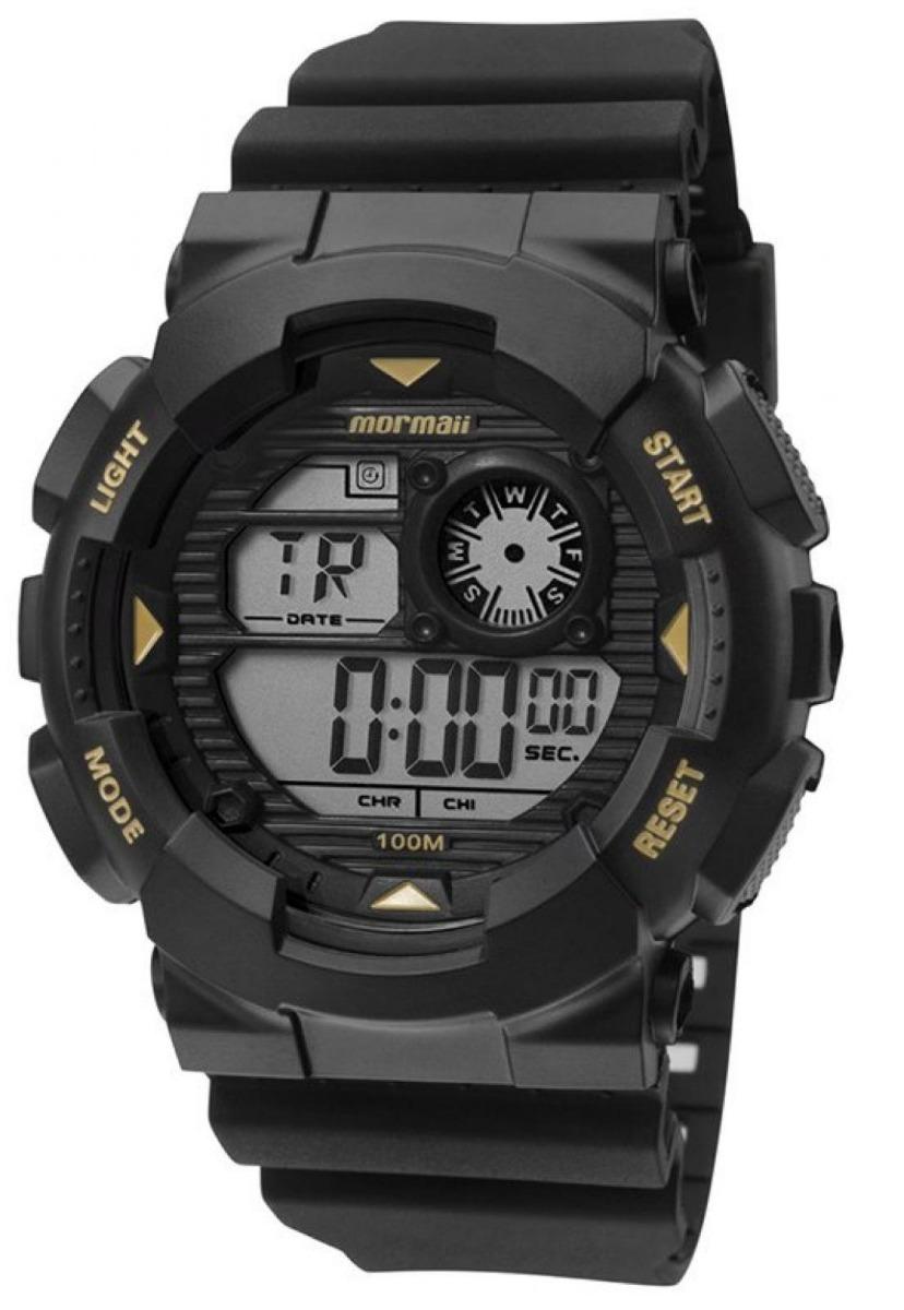 bf5cff3df9c relógio mormaii digital masculino esportivo cronômetro timer. Carregando  zoom.