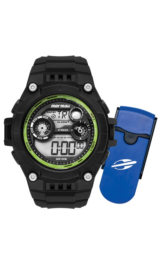 76b5735ffac Relógio Mormaii Digital Masculino Promoção Mo9000c k8v + Nf - R  189 ...