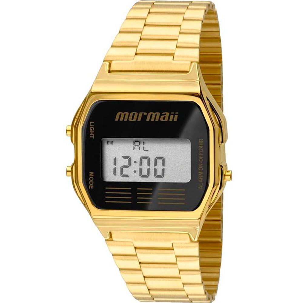 bb34d5208551a relógio mormaii digital maui feminino mojh02ab4p dourado. Carregando zoom.