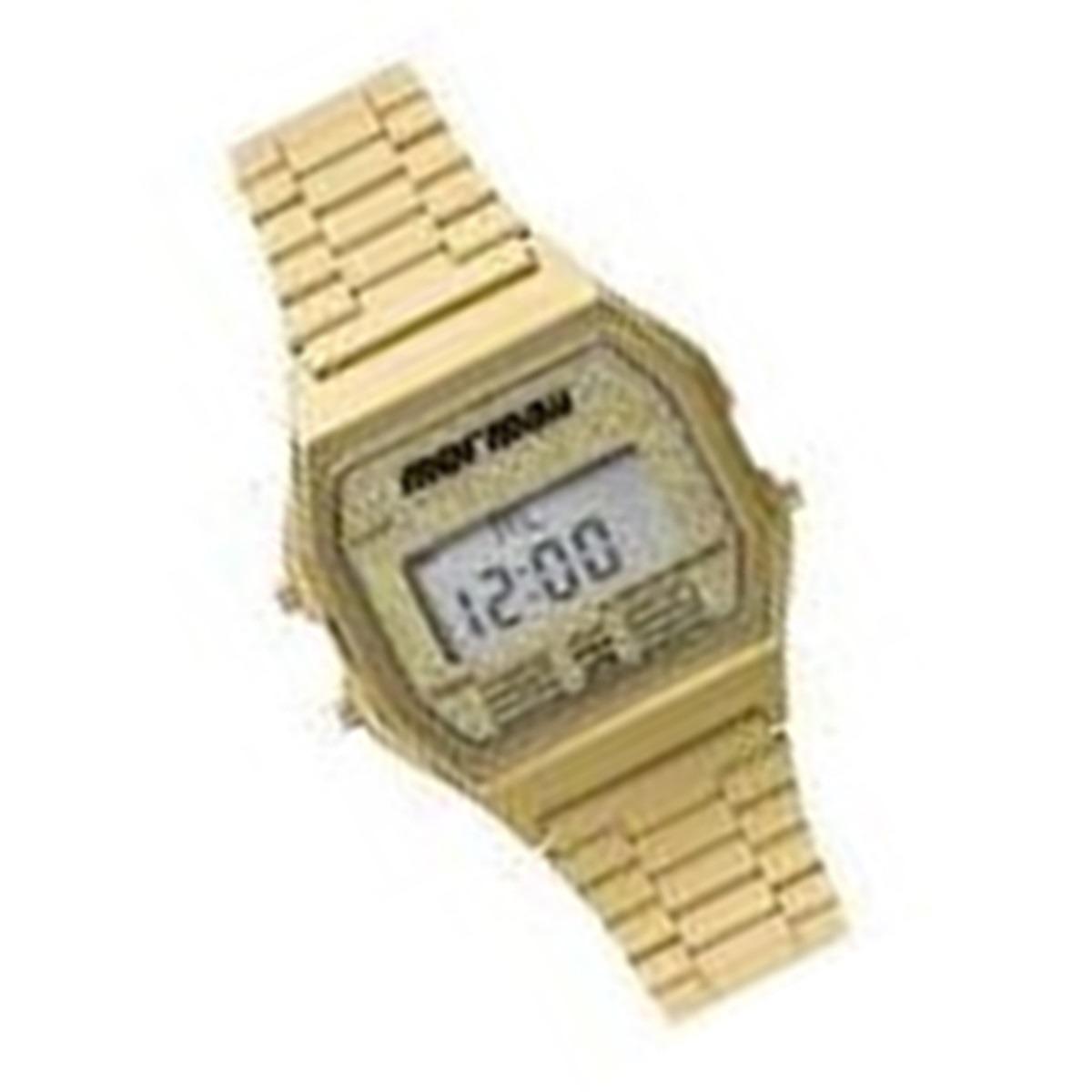 Relógio Mormaii Vintage Feminino Dourado Digital Mojh02ad 4b - R ... 7471ac8ea1