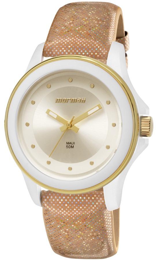 d5b839091acc8 Relógio Mormaii Feminino Maui Luau Analógico Mo2035fp 2k - R  263