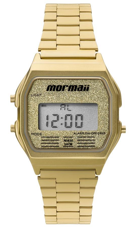 Relógio Mormaii Feminino Vintage Mojh02ad 4b Digital Dourado - R ... ad1b6eee61