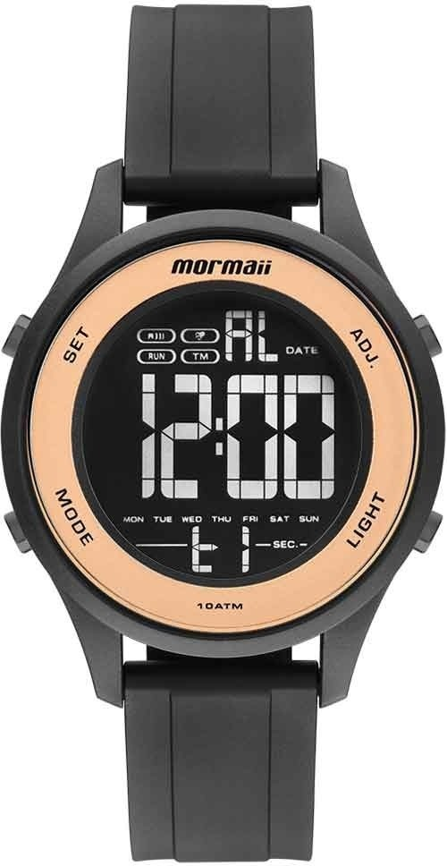 b72f2f501d6 Relógio Mormaii Feminino Wave Digital Mo6200 8j - R  206