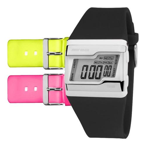 relógio mormaii feminino acquarela fz/t8v - troca pulseira