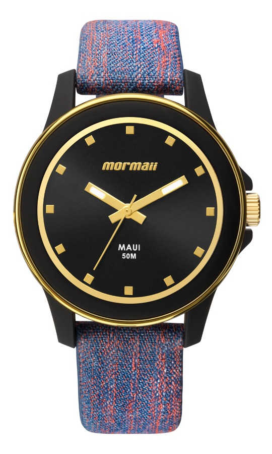 63dbb4e50b2 relógio mormaii feminino com pulseira de couro mo2035hz 8a. Carregando zoom.