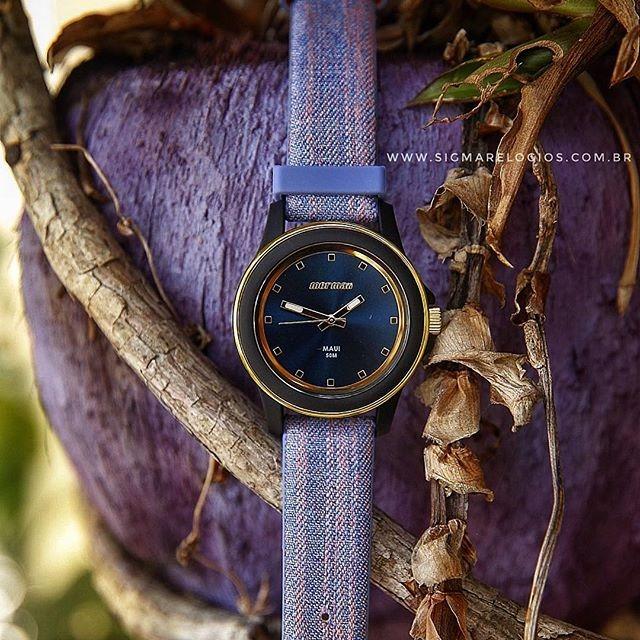 129e0dd9ca1 Relógio Mormaii Feminino Com Pulseira De Couro Mo2035hz 8a - R  189 ...