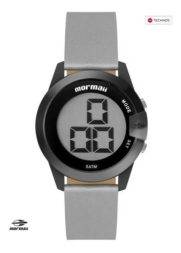 relógio mormaii feminino interestelar grafite c/ nfe technos