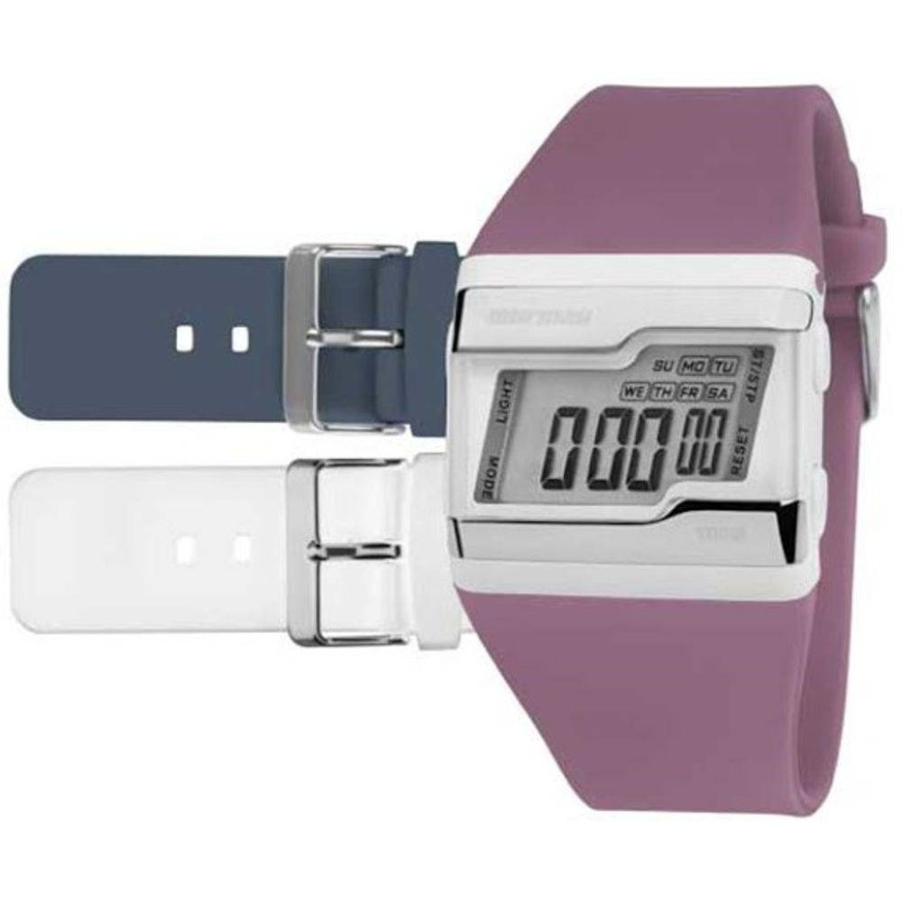 Relógio Mormaii Feminino Kit Troca Pulseiras Fzu 8c - R  139,90 em ... 6c0feba2ec