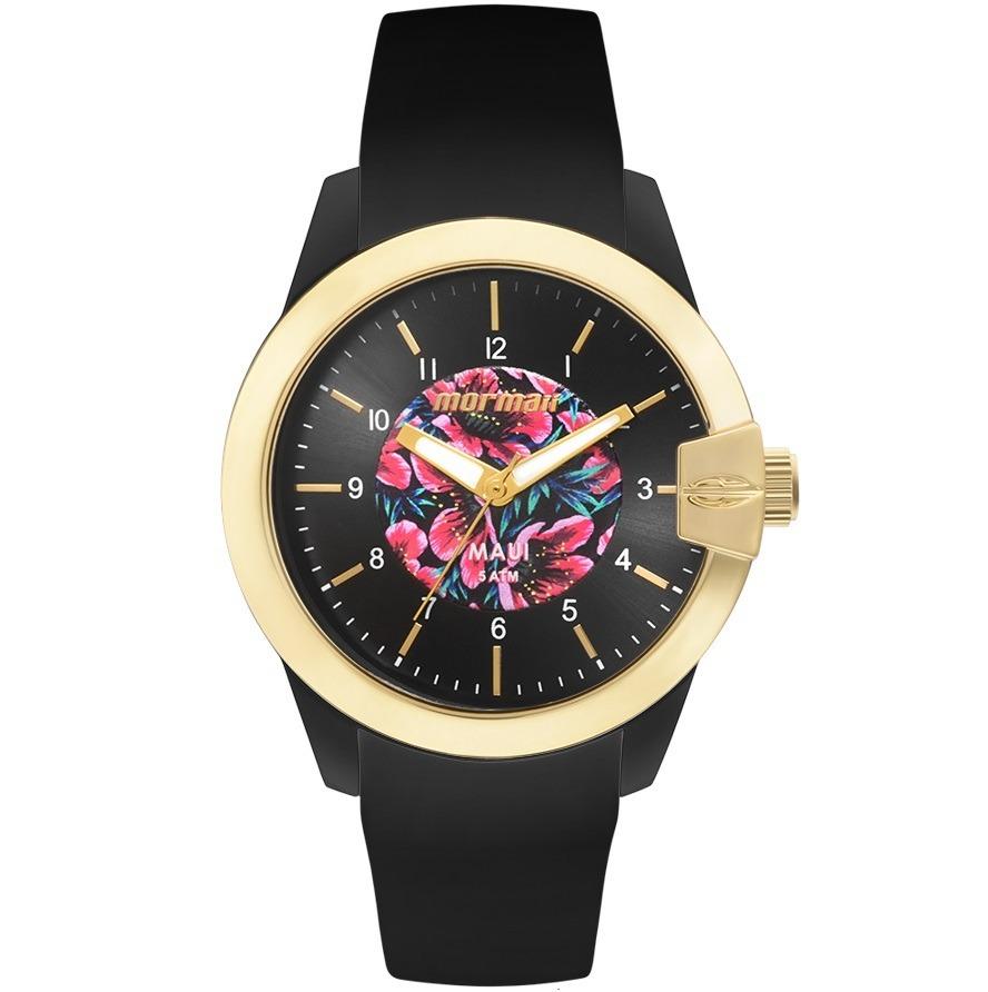 b2d48ef2591e4 Relógio Mormaii Feminino Maui Floral Mo2036ii 8p - C  Nfe - R  182,90 em  Mercado Livre