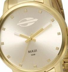 relógio mormaii feminino maui mo2035gn/4k