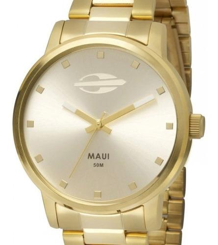 relógio mormaii feminino maui mo2035gn/4k re. autorizada nfe