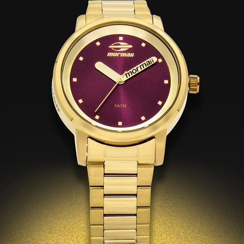 Relógio Mormaii Feminino Maui Original Mo2035df 4r - R  164,00 em ... f73d0fd11c