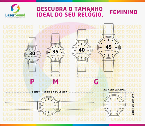 relógio mormaii feminino mo2035dw/8n, c/ garantia e nf