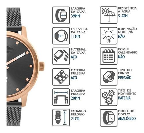 relógio mormaii feminino mo2035jq/5j