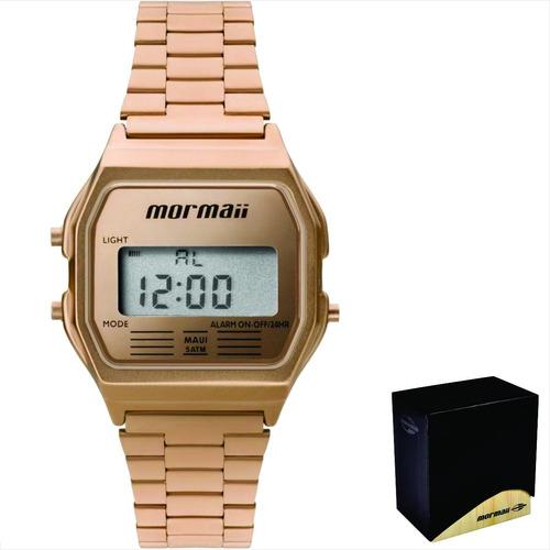 relógio mormaii feminino original c/garantia nf mojh02ai/4j