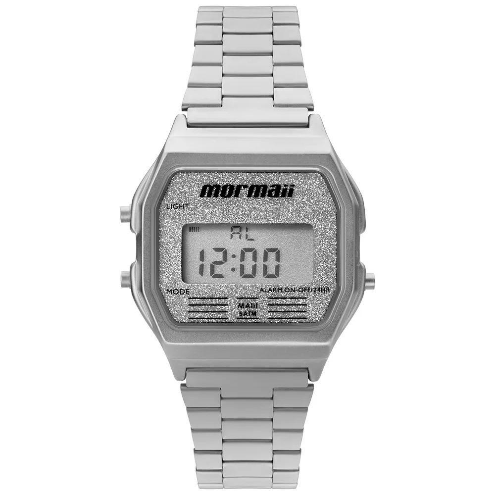 9922b67842213 relógio mormaii feminino prata original vintage mojh02ae 3b. Carregando zoom .