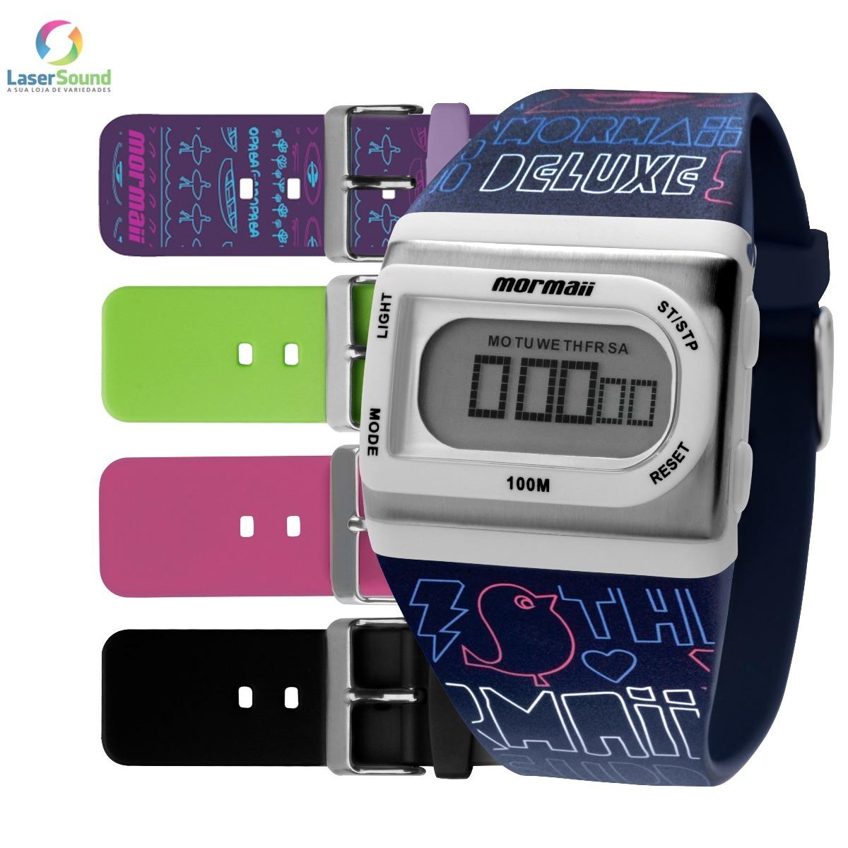 Relógio Mormaii Feminino Troca Pulseira Fzg t8q, Nf+garantia - R ... ed01678a97