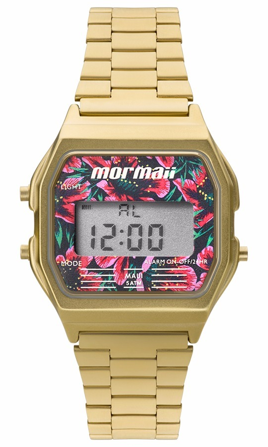 relógio mormaii feminino vintage mojh02ad 4d dourado oferta. Carregando  zoom. d6896ddf06
