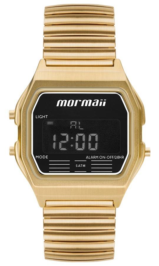 b81cebf3aff2a relógio mormaii feminino vintage mojh02au 4d dourado digital. Carregando  zoom.