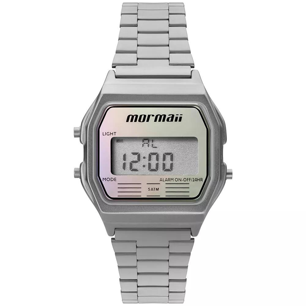 6a690c6cf1fa0 relógio mormaii feminino vintage prata mojh02aq 3k original. Carregando zoom .