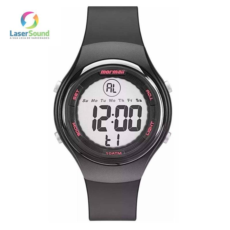 Relógio Mormaii Femino Mo0600 8t C  Garantia E Nf - R  169,00 em ... 05cd489e36