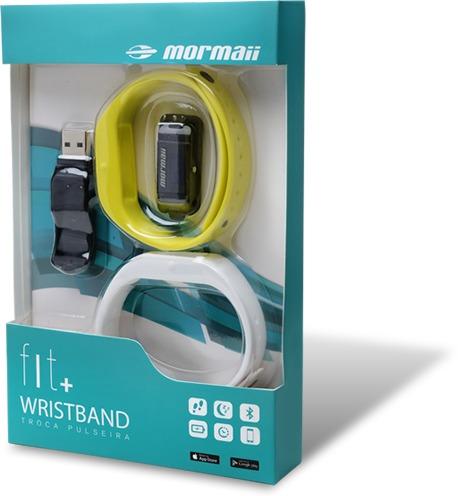 10036e0a17f Relógio Mormaii Fit + Wristband (troca Pulseira) - R  259
