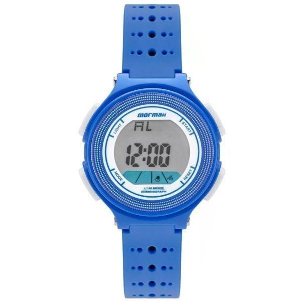 Relógio Mormaii Infantil Digital Azul branco Mo0974 8a - R  118,90 ... 8ac0d6bfe2