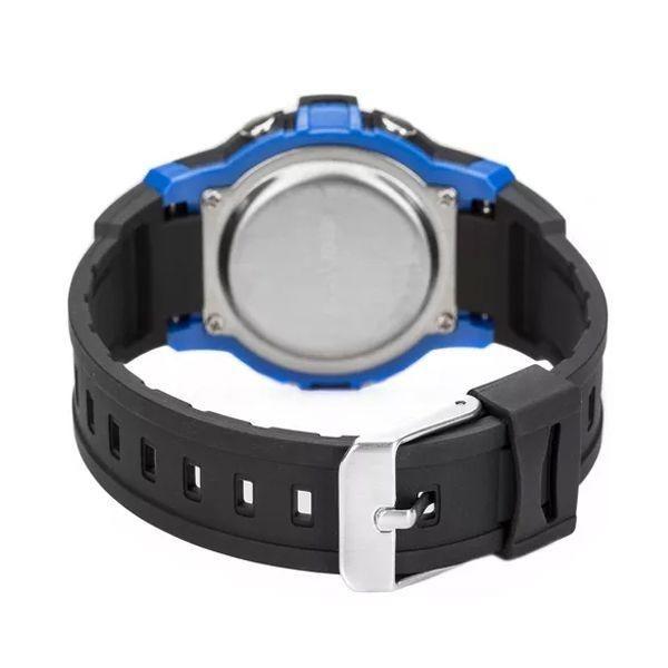 Relógio Mormaii Infantil Digital Preto azul Mo0200 8a - R  137,90 em ... cca376514f
