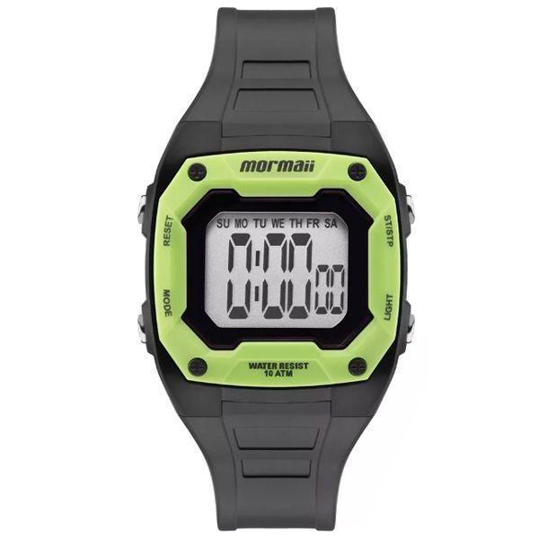 cc13b76ecd1 Relógio Mormaii Infantil Digital Preto verde Mo9451ac 8v - R  133