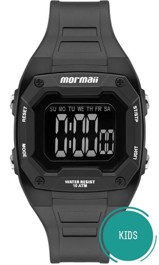 401624c750a3c Relógio Mormaii Infantil Wave Mo9451ab 8p Negativo Digital - R  168 ...