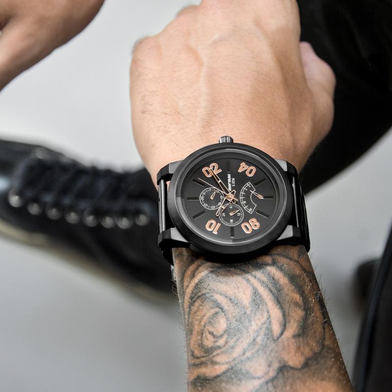 Relógio Mormaii Masculino Urban Preto Fosco Nfe Mojr10ab 4j - R  269 ... 9c1e02f530