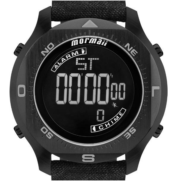 8e271e3bdba0c Relógio Mormaii Masculino Acqua Pro Mo11273d 2p Preto C  Nfe - R ...