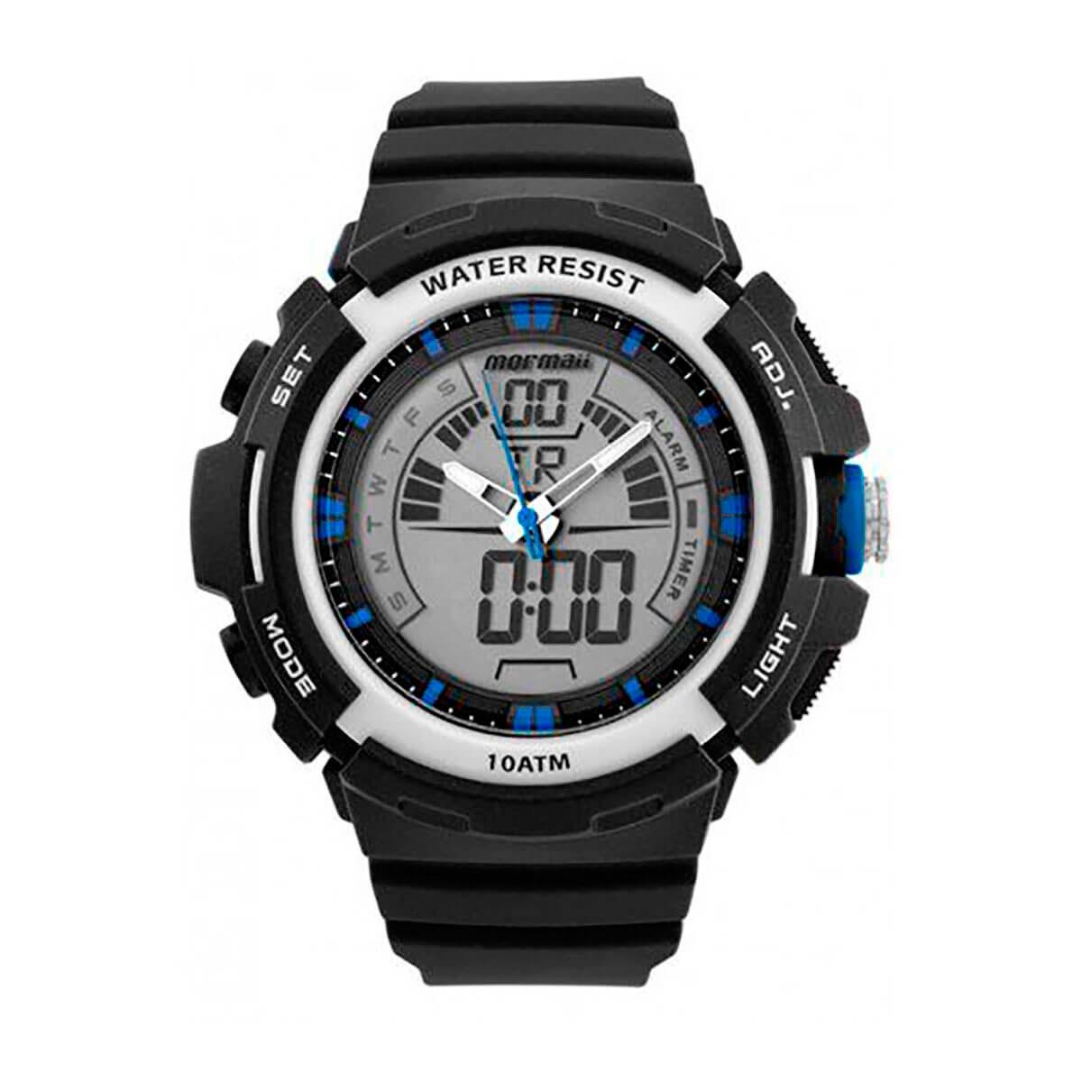 743cb94859e14 Relógio Mormaii Wave Masculino Moad08902 8a - R  214