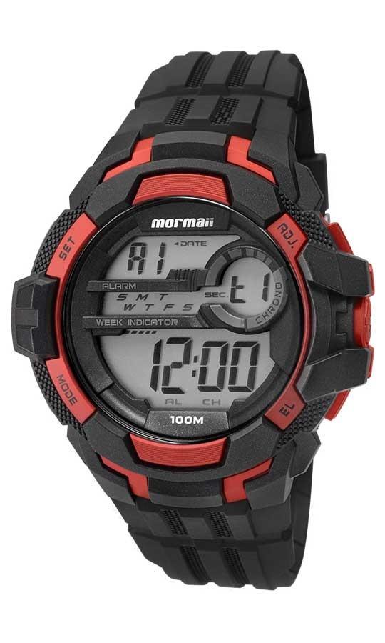 Relógio Mormaii Masculino Acqua Action Digital Mo82011aa 8r - R  195 ... 6667adf503