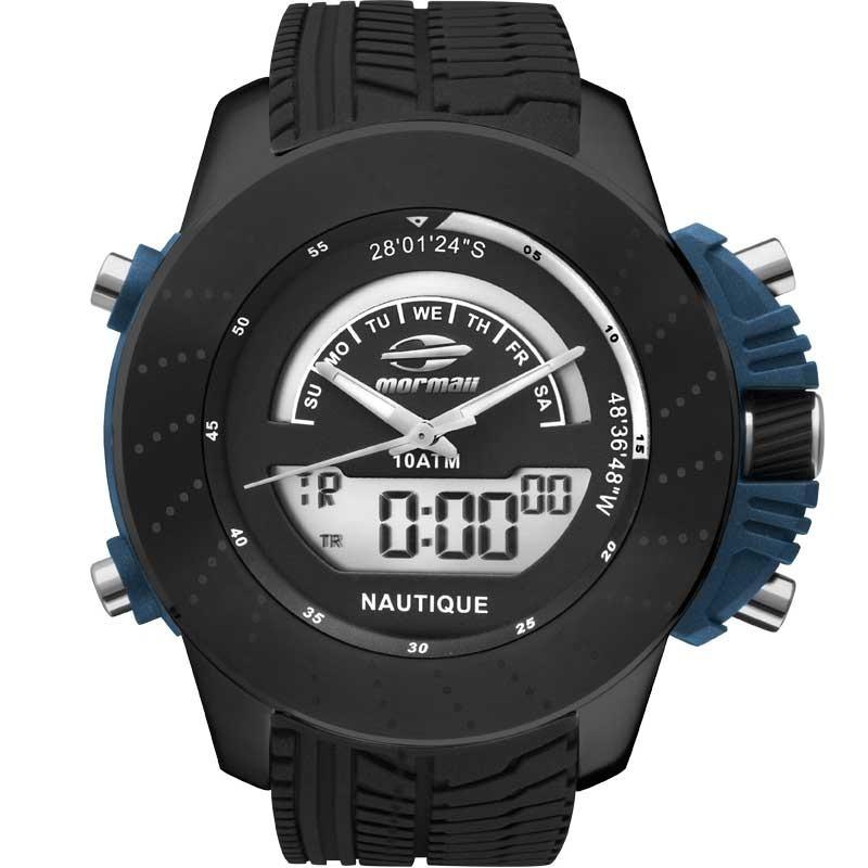 04dfcc6e2f59c Relógio Mormaii Masculino Nautique Mova002 8p - R  449,00 em Mercado ...